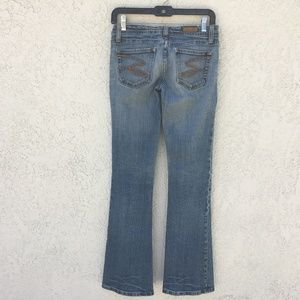 Seven7 Womens Jeans Flare